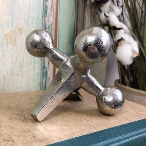 Modern Jack Sculptural Decor Accent Paperweight